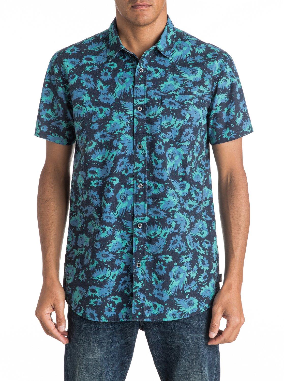 Quiksilver-Drop-Out-Short-Sleeve-Shirt-Camisa-De-Manga-Corta-Hombre