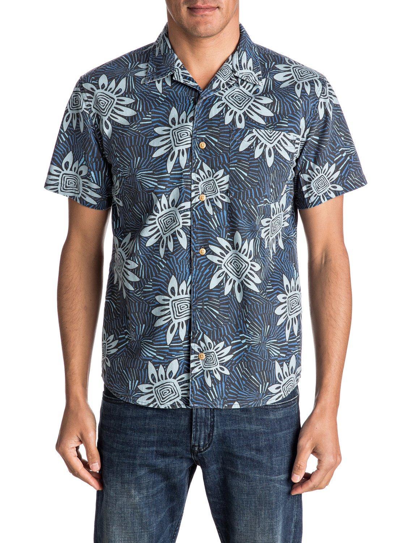 0 Indian Summer - Short Sleeve Shirt EQYWT03508 Quiksilver 4b8d61408
