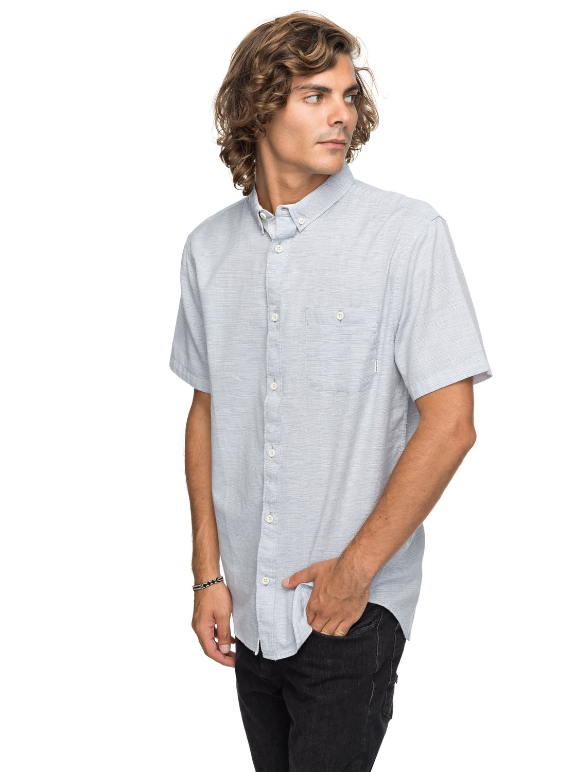 756a9446535 0 Waterfalls Update - Short Sleeve Shirt for Men Blue EQYWT03629 Quiksilver