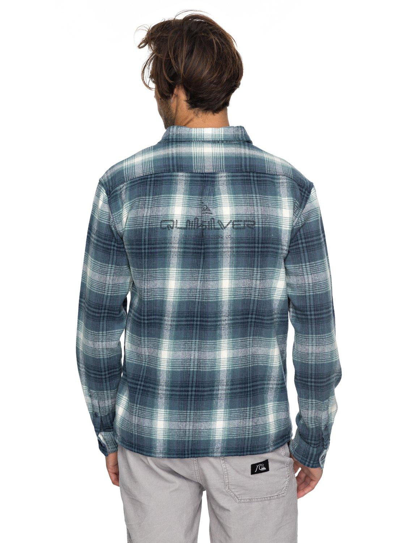 malako beach chemise en flanelle pour homme eqywt03637 quiksilver. Black Bedroom Furniture Sets. Home Design Ideas