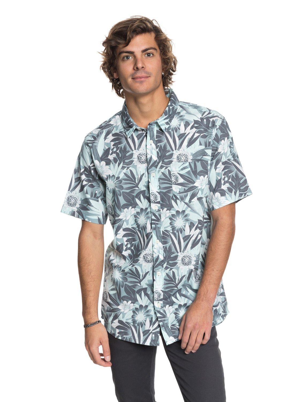 Hippy Beach Short Sleeve Shirt Eqywt03684 Quiksilver