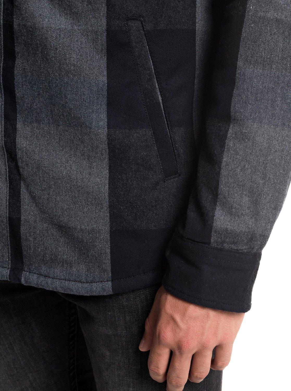 stenen met Miho mouw ™ Shirt Quiksilver lange Overhemd Eqywt03741 IYfg76ybvm