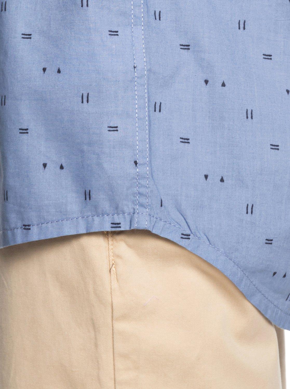 Road Quiksilver Eqywt03836 Short Shirt The Sleeve Rock axfqOp5UYw