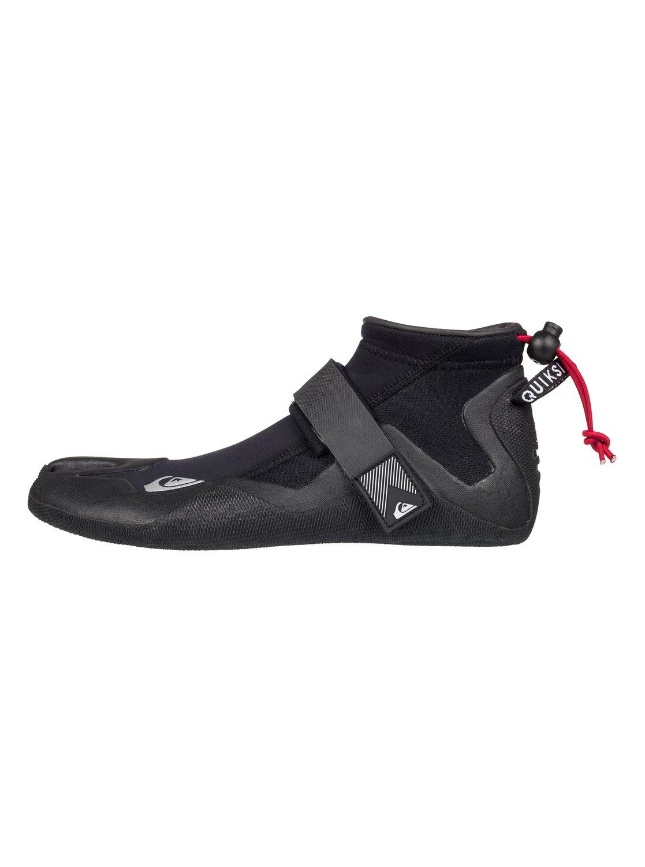 0 2mm Highline Series Split Toe Reef Surf Boots Black EQYWW03004 Quiksilver 963552ccf