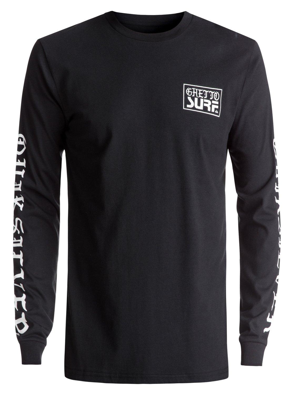 Pour Ghetto À Eqyzt04471 Manches Shirt T Homme Longues Surf xZZqY4Bwp