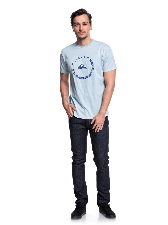Slab Session - T-shirt col rond pour Homme - Noir - QuiksilverQuiksilver