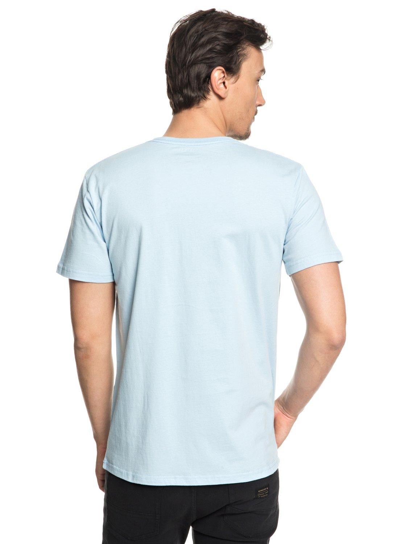 Bear Shark - T-shirt col rond pour Homme - Blanc - QuiksilverQuiksilver