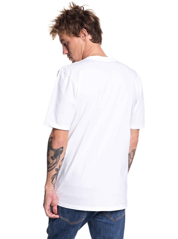 QuikArgent   Originals Quik Collage - pour T-shirt col rond pour - Homme EQYZT04982 5cf054