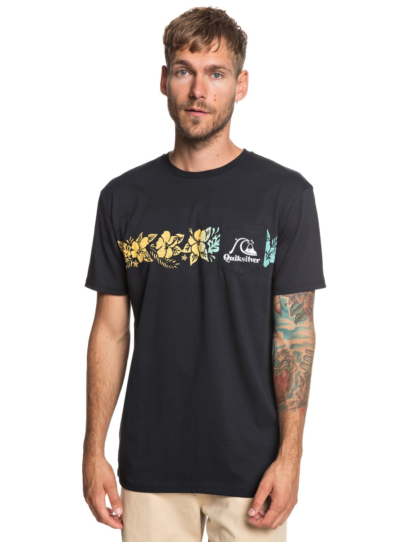 Tea stripe maglietta con tasca da uomo eqyzt05221 - Costumi da bagno con maglietta ...