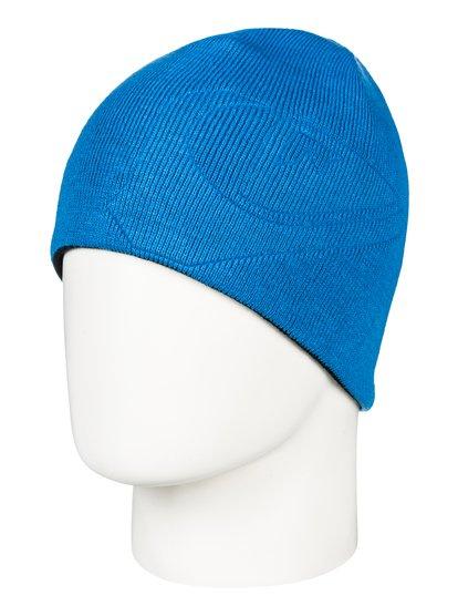 0 M W - Bonnet pour Garçon 8-16 ans Bleu EQBHA03032 Quiksilver 1d429073209
