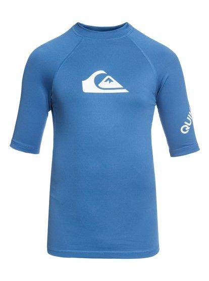 All Time - Short Sleeve UPF 50 Rash Vest  EQBWR03006