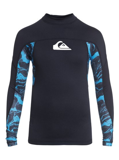 Slashs - Long Sleeve UPF 50 Rash Vest for Boys 8-16  EQBWR03044