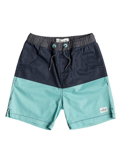 Yellow Daze - Elasticated Shorts for Boys 8-16  EQBWS03270