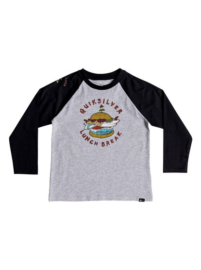 Quik Lunch - Long Sleeve T-Shirt for Boys 2-7  EQKZT03234