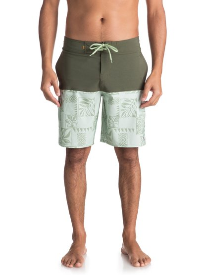 "Waterman Malama Bay 18"" - Board Shorts for Men  EQMBS03035"