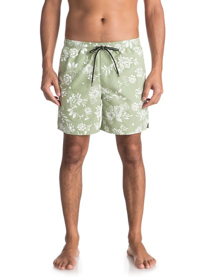 "Waterman Om Floral 17"" - Swim Shorts for Men  EQMJV03027"