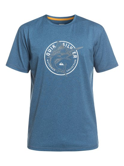 Waterman Watermarked - Long Sleeve UPF 50 Surf T-Shirt for Men  EQMWR03053