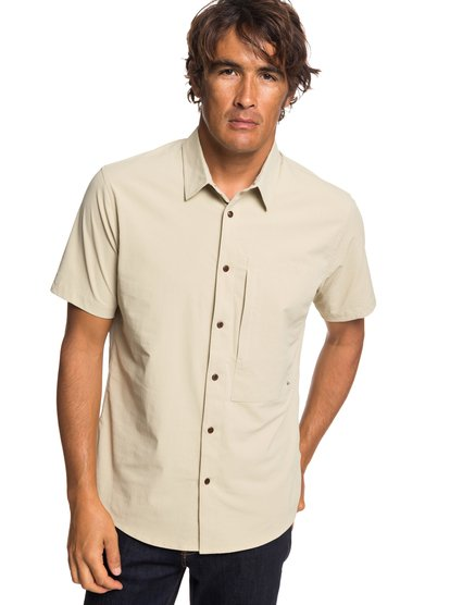 Waterman Salt Water Reloaded - Short Sleeve UPF 30 Shirt for Men  EQMWT03222