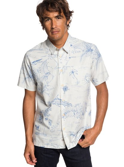 Waterman Pacific Records - Short Sleeve Shirt for Men  EQMWT03242