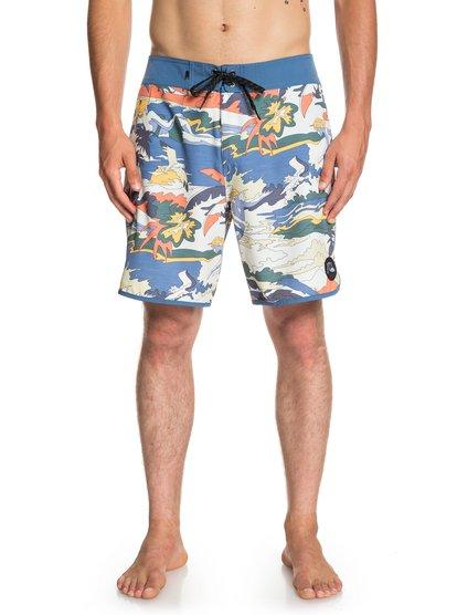 """Highline Feelin Fine 18"""" - Board Shorts for Men  EQYBS04116"""