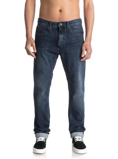 Low Bridge Mineral Blue - Skinny Fit Jeans for Men  EQYDP03339