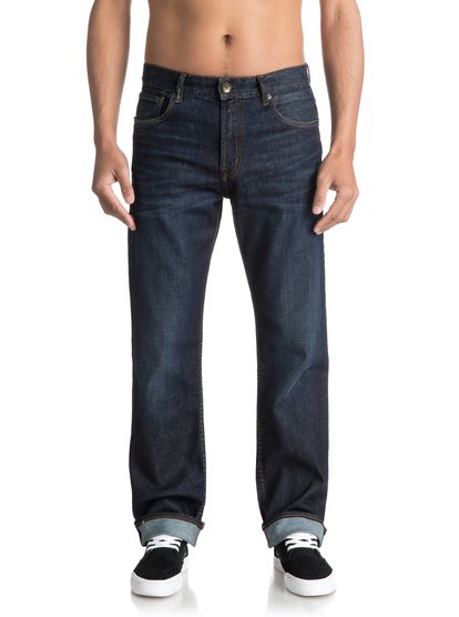 High Force Blue Glass - Relaxed Fit Jeans for Men  EQYDP03342