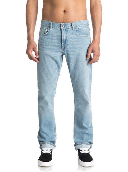 Revolver Foam Blue - Straight Fit Jeans for Men  EQYDP03343