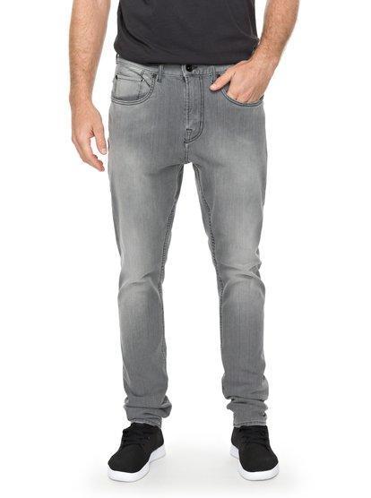 Low Bridge Grey - Skinny Fit Jeans for Men  EQYDP03354
