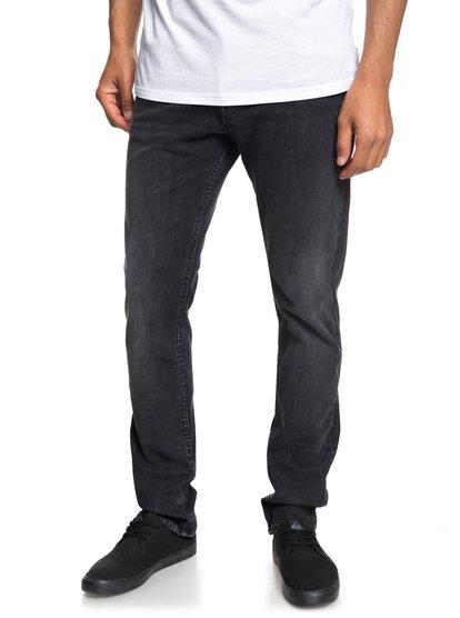 Distorsion Vintage Black - Slim Fit Jeans for Men  EQYDP03370