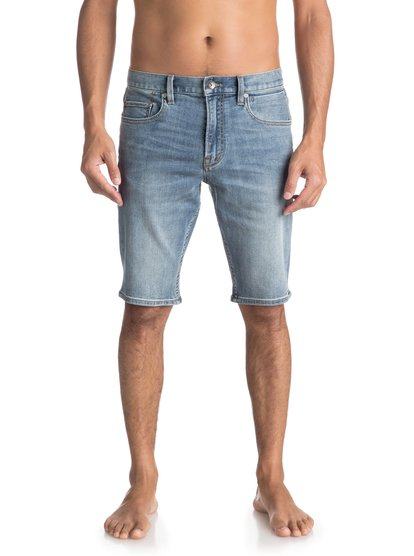Revolver Surf Blue - Technical Denim Shorts  EQYDS03077