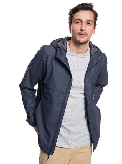 Kamakura Rains - Hooded Rain Jacket for Men  EQYJK03438