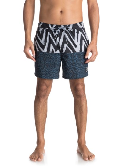 "Techtonics 17"" - Swim Shorts for Men  EQYJV03288"