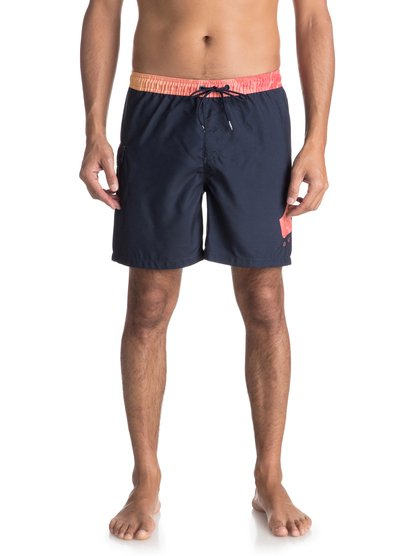 "Lava Logo 17"" - Swim Shorts for Men  EQYJV03309"