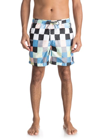 "Resin Check 15"" - Swim Shorts for Men  EQYJV03313"