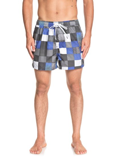 "Resin Check 15"" - Swim Shorts for Men  EQYJV03421"