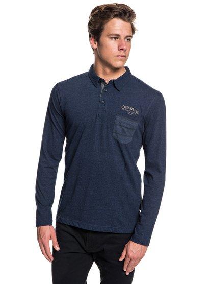 Shadow Stripe - Long Sleeve Polo Shirt  EQYKT03791
