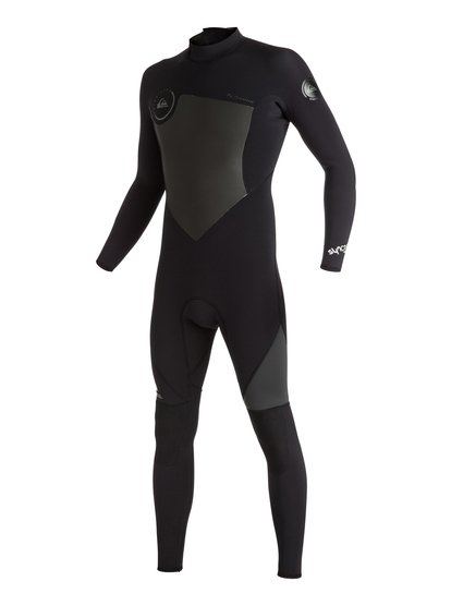 Syncro 3/2mm - Back Zip Full Wetsuit  EQYW103030