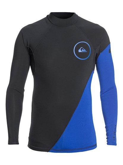 Top pour Series néoprène de 1mm longues EQYW803007 Homme Syncro Bleu 0 manches à surf qEftvqp