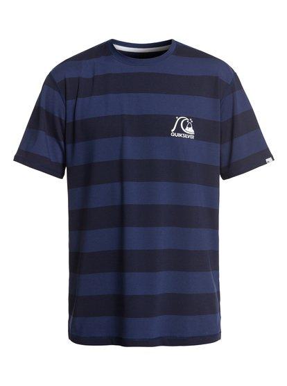 Stripe Sea - Short Sleeve UPF 50 Surf T-Shirt for Men  EQYWR03150