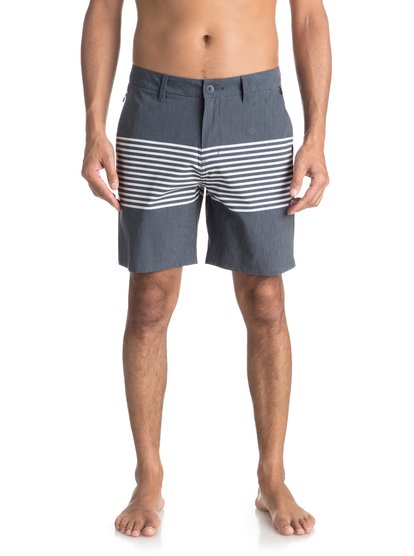 "Echo Stripe 18"" - Amphibian Board Shorts  EQYWS03498"