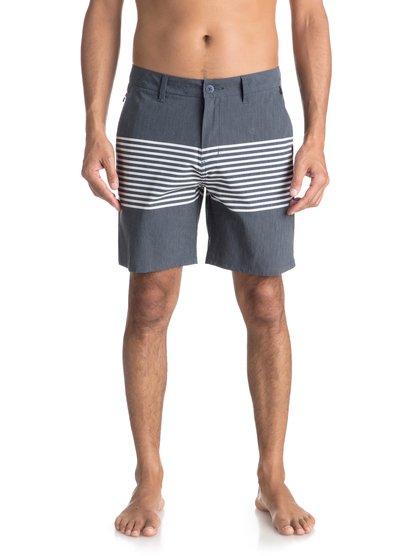 "Echo Stripe 18"" - Amphibian Board Shorts for Men  EQYWS03498"