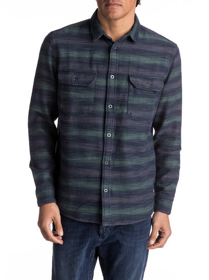 Dusky Town Flannel - Long Sleeve Over Shirt for Men  EQYWT03541