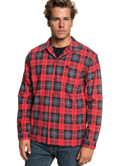 Storm Warning - Long Sleeve Flannel Shirt for Men  EQYWT03777