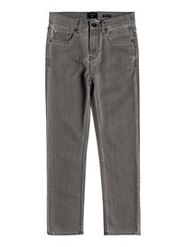 Ibaraki Cement Wash - Straight Fit Ankle Length Jeans for Boys 8-16  EQBDP03152