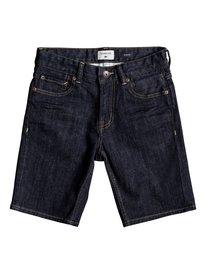 Distorsion Rinse - Denim Shorts  EQBDS03052