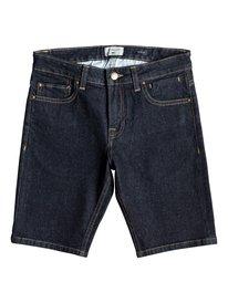 Distorsion Rinse - Denim Shorts for Boys 8-16  EQBDS03057
