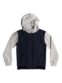 Leno Bay - Hooded Zip-Up Flacket for Boys 8-16  EQBFT03458
