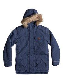 Seasonal Rain - Water-Repellent Parka Jacket for Boys 8-16  EQBJK03131