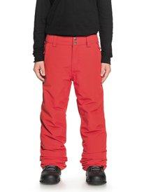 Quiksilver Nieve Snowboard Y Esquí Niños De Pantalones xO8qXwYw