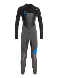 4 3mm Syncro Plus - Chest Zip Wetsuit for Boys 8-16 EQBW103029 69c466955d2